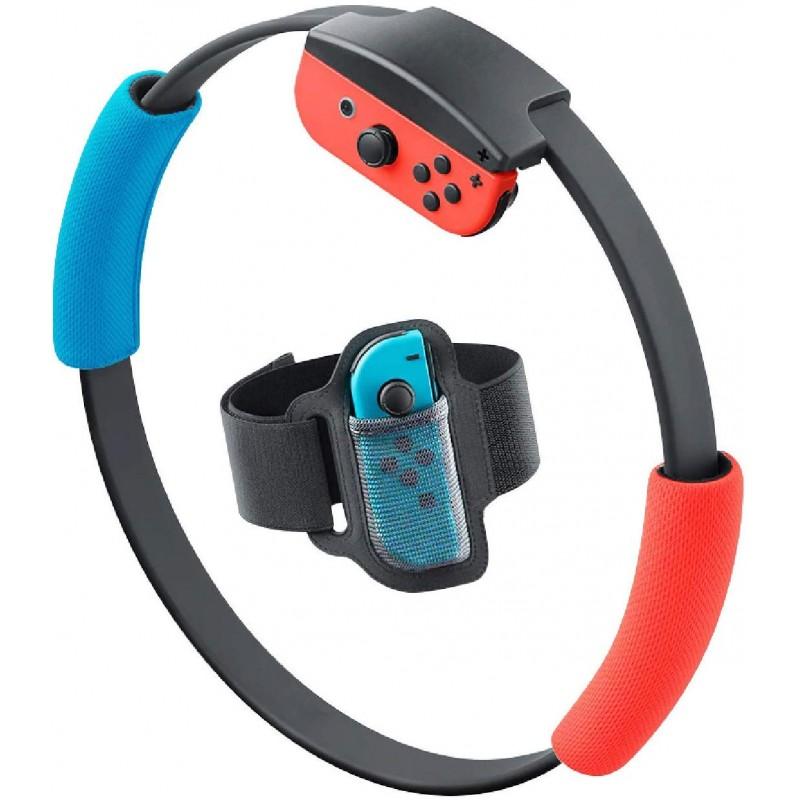 Nintendo Switch Ring Fit Adventure 용 액세서리 키트 1 개의 스위치 레그 스트랩 및 2 개의 링콘 그립, 단일상품