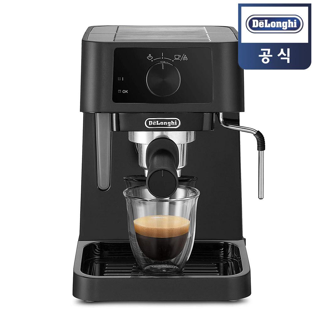 [정품] 드롱기 EC230.BK 반자동 커피머신 15바 1L, 단일상품