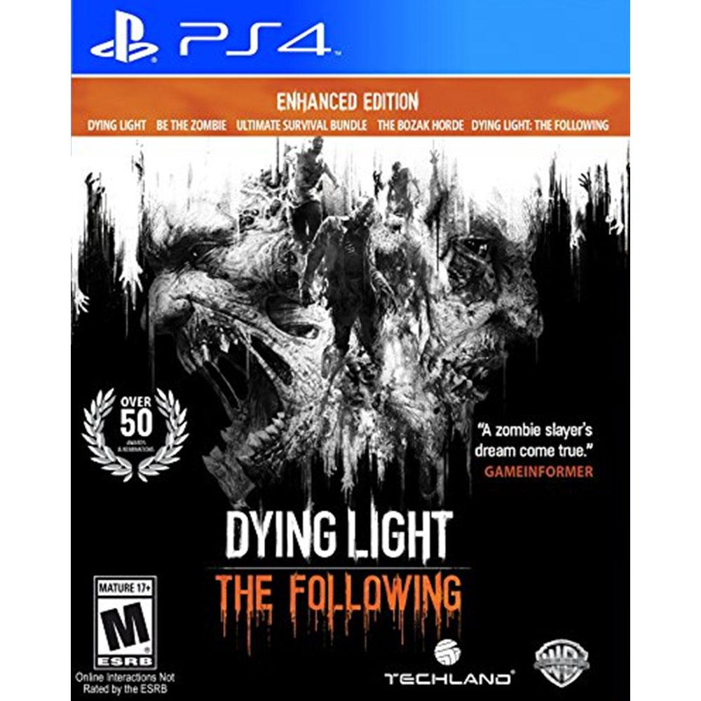다잉 라이트 더 팔로잉 Dying Light The Following - Enhanced Edition - PS4, 단일상품