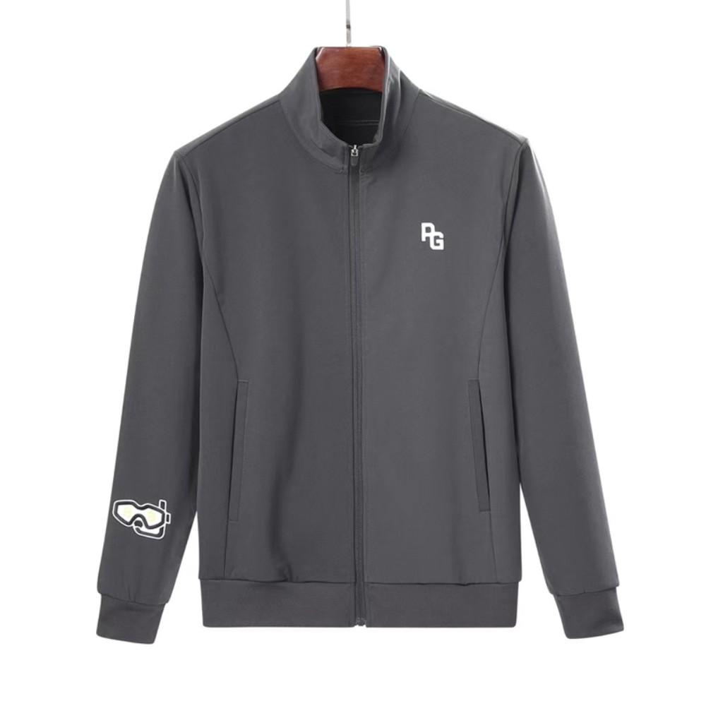 파리게이츠 골프 바람막이 남성 골프웨어 점퍼 가을 겨울 점퍼 자켓, 회색