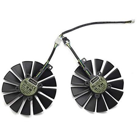해외550022833 inRobert 95mm T129215SM 12V 0.25AMP Graphics Card Cooling Fan for ASUS STRIX-RX470-O4, 상세 설명 참조0