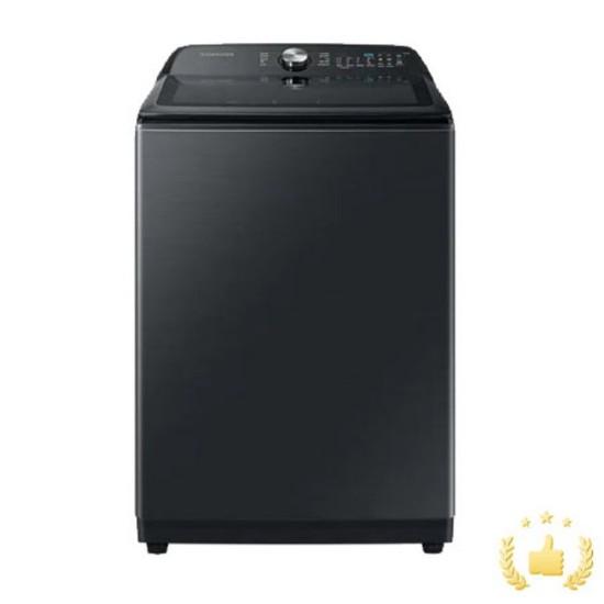 삼성 일반세탁기 WA19A8370KV [19KG/블랙케비어]]