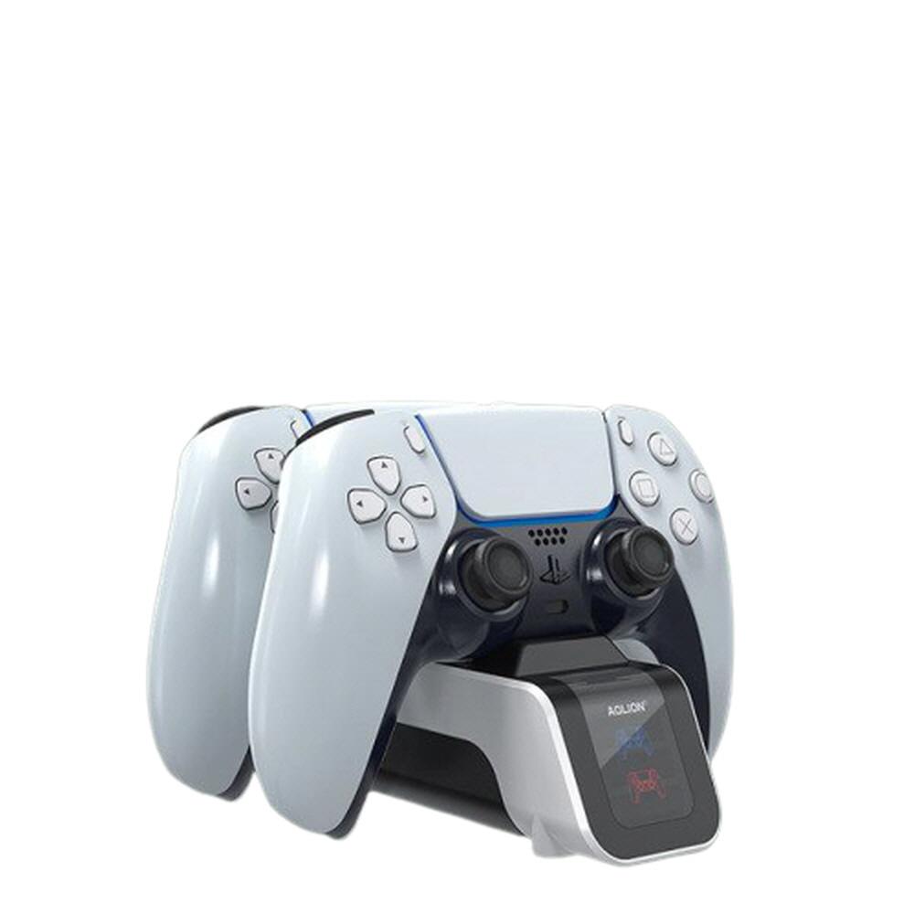 소니 PS5 듀얼센스 패드 조이스틱 컨트롤러 핸들 무선 고속 충전독 충전 거치대 스탠드
