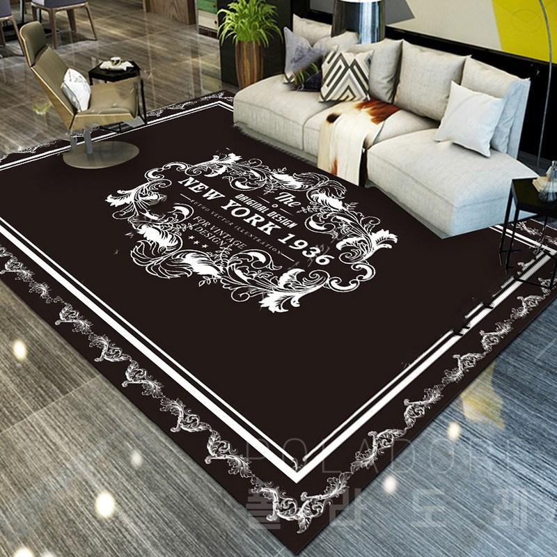 거실 카페트 대형 바닥 매트 특대형 거실 러그 카펫, 23-H타입(160cmX230cm)