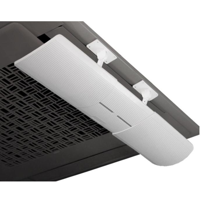 에어컨 바람막이 가드 벽걸이 천장형 에어컨 윈드바이저 부착형 54.5cm~70.5cm 길이조절 각도조절 가능 손쉬운 설치, 1개 (POP 5593126895)