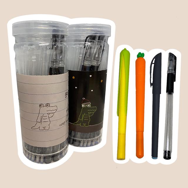 온리원 기화펜 리필심100개 + 펜대2 회독펜 기출펜, 기본구성