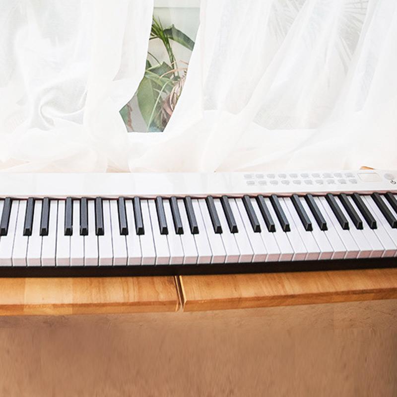 디지털 취미용 해머건반 88건반 피아노 블루투스, 디지털피아노88건반, 01_화이트(white)