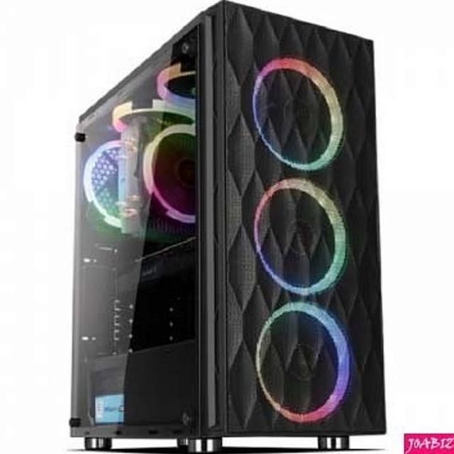 천리마마트 COX A5 엘도라도 강화유리 스펙트럼 CORONA PC용품 미들타워 PC케이스, 해당상품
