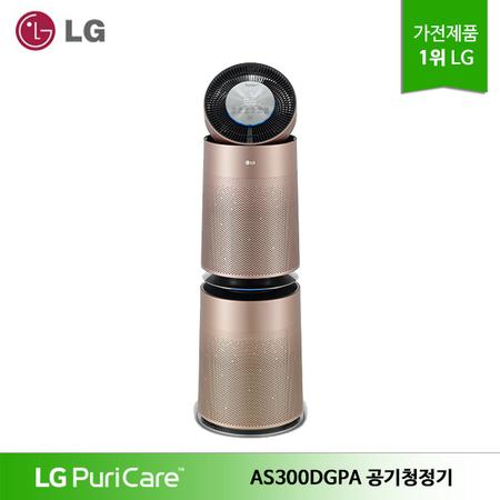 LG 퓨리케어 360도 펫 전용 공기청정기 AS300DGPA, 상세페이지 참조