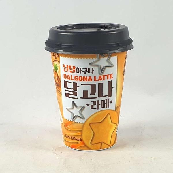 ㈜푸르밀 달고나 라떼 250ml X 10 (커피/커피음료/라떼음료/달고나커피/캔커피/코코아/가공식품/과자/음료 추천), 1개, 1ml