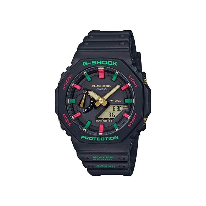 G - SHOCK (지샥) [카시오] 시계 지샥 슬로우 백 1990s 카본 코어 가드 구조 GA-2100TH-1AJF 남성