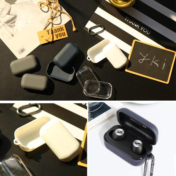 와이키몰 젠하이저 모멘텀 트루 와이어리스2 슬립 케이스 투명 및 4종 PC 실리콘 커버