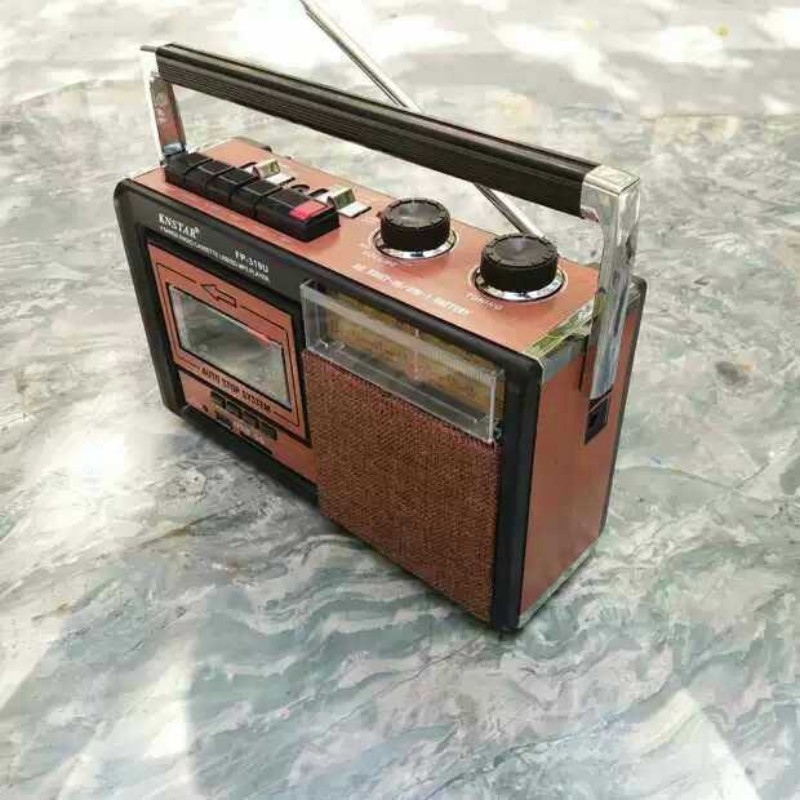 레트로 카세트테이프 카세트 라디오 마이마이 플레이어, 단일상품