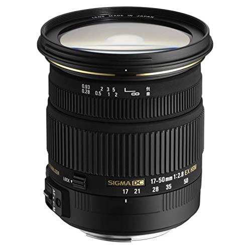 17-50mm F 2.8 EX DC OS HSM FLD Sigma 디지털 DSLR 카메라 용 대형 조리개 표준 줌 렌즈, 본상품