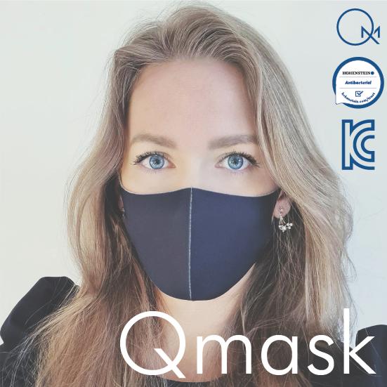 Qmask - 프리미엄 구리 연예인 패션 마스크