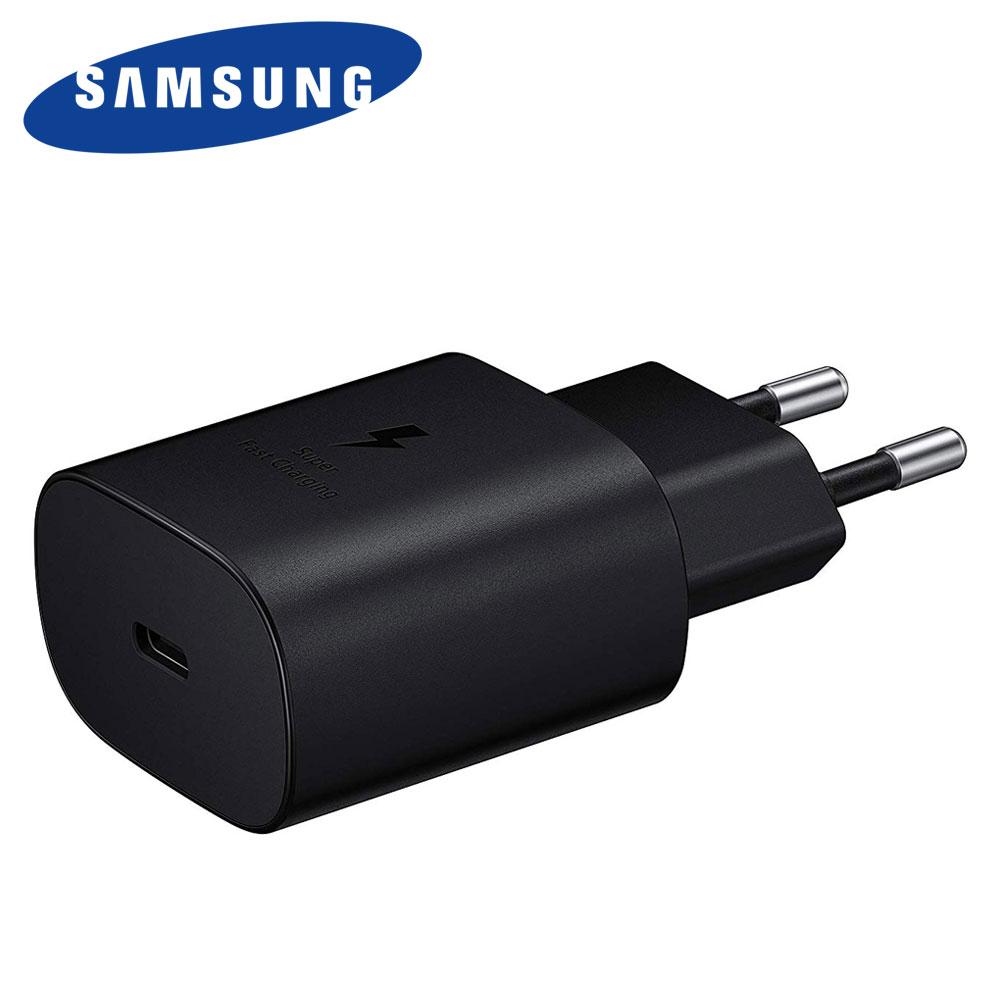 삼성 삼성정품 25W PD 고속충전기 EP-TA800 5G 휴대폰 PPS기능 9V 2.77A C to 25와트 급속충전기, 1개, 25W 고속충전기 TA-800 (케이블미포함) 블랙