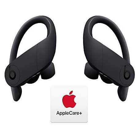 Beats 파워비츠 프로 완전 무선 이어폰 - 애플 h1 칩 - 검정색 및 애플케어+ 번들 PROD360005373, 상세 설명 참조0, One Color