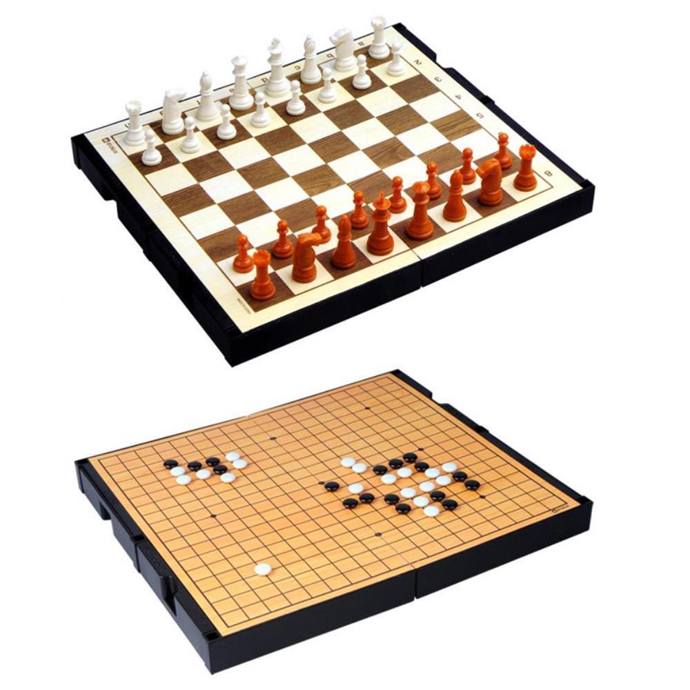양면 체스 바둑게임 초등학교2학년선물 초등학교3학년선물 체스세트 놀이장난감