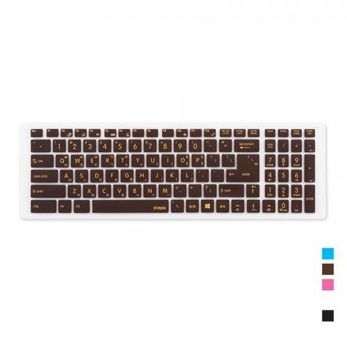 [바보사랑]MSI WS63 8SJ용 문자키스킨, 블루, 본상품선택