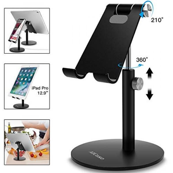 조정 가능한 정제 / 전화 대 AICase 망원경 조정 가능한 iPad 대 홀더 iPhone 똑똑한 셀룰라 전화 / 태블릿 / iPad (4, 단일상품, 단일상품