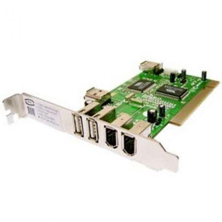 PCI USB 1394 콤보 카드 (USB2.0/2포트)(1394/2포트) 컨트롤러[TOPnSolution], 상세페이지 참조
