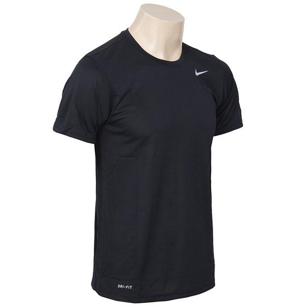 나이키 드라이핏 스우시 기본 반팔티셔츠 블랙 티셔츠