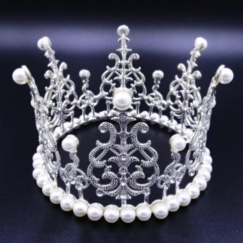브라이덜샤워 왕관 티아라 케이크 프로포즈 케이크토퍼 생일 파티