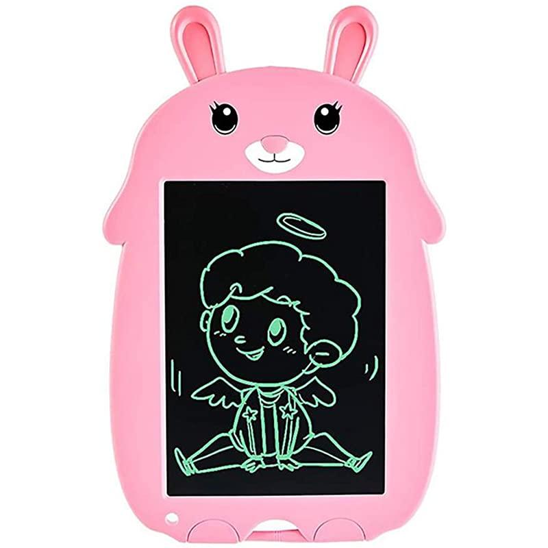 8 홈 스쿨과 키즈 핑크 사무소에서 노트 두들 보드 선물 드로잉 앰프를 위한 귀여운 토끼 전자 드로잉 태블릿 디지털 필기 패드 5 쿼터 LCD 필기판, 상세페이지 참조