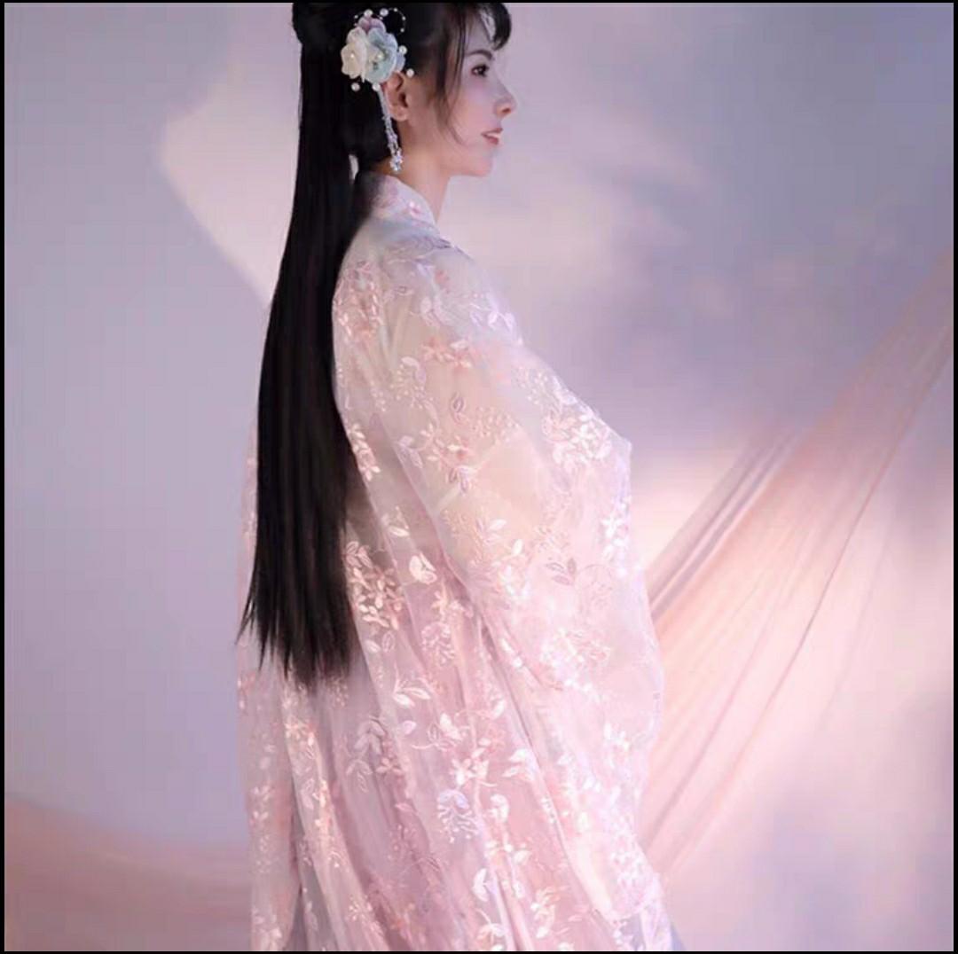 뮬란 코스프레 코스튬 여자 여성 개량 퓨전 한복 선녀복 선녀 의상 옷