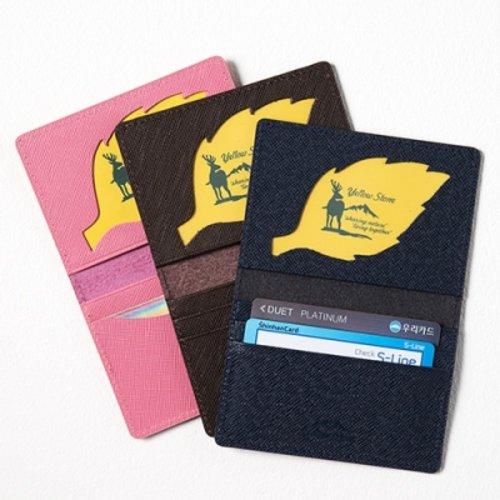 [텐바이텐] [소가죽] 카드지갑 Leather Folded Card Case ys3002