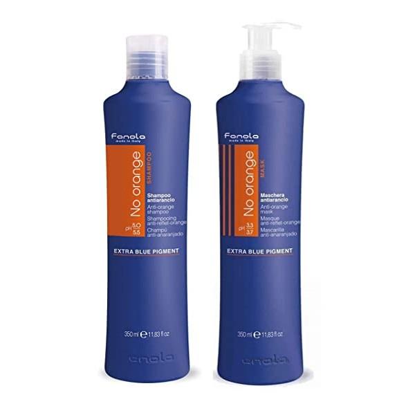 Fanola No Orange Shampoo & Masque Set 11.83 OZ Each, 단일상품, 본문참고, 본문참고