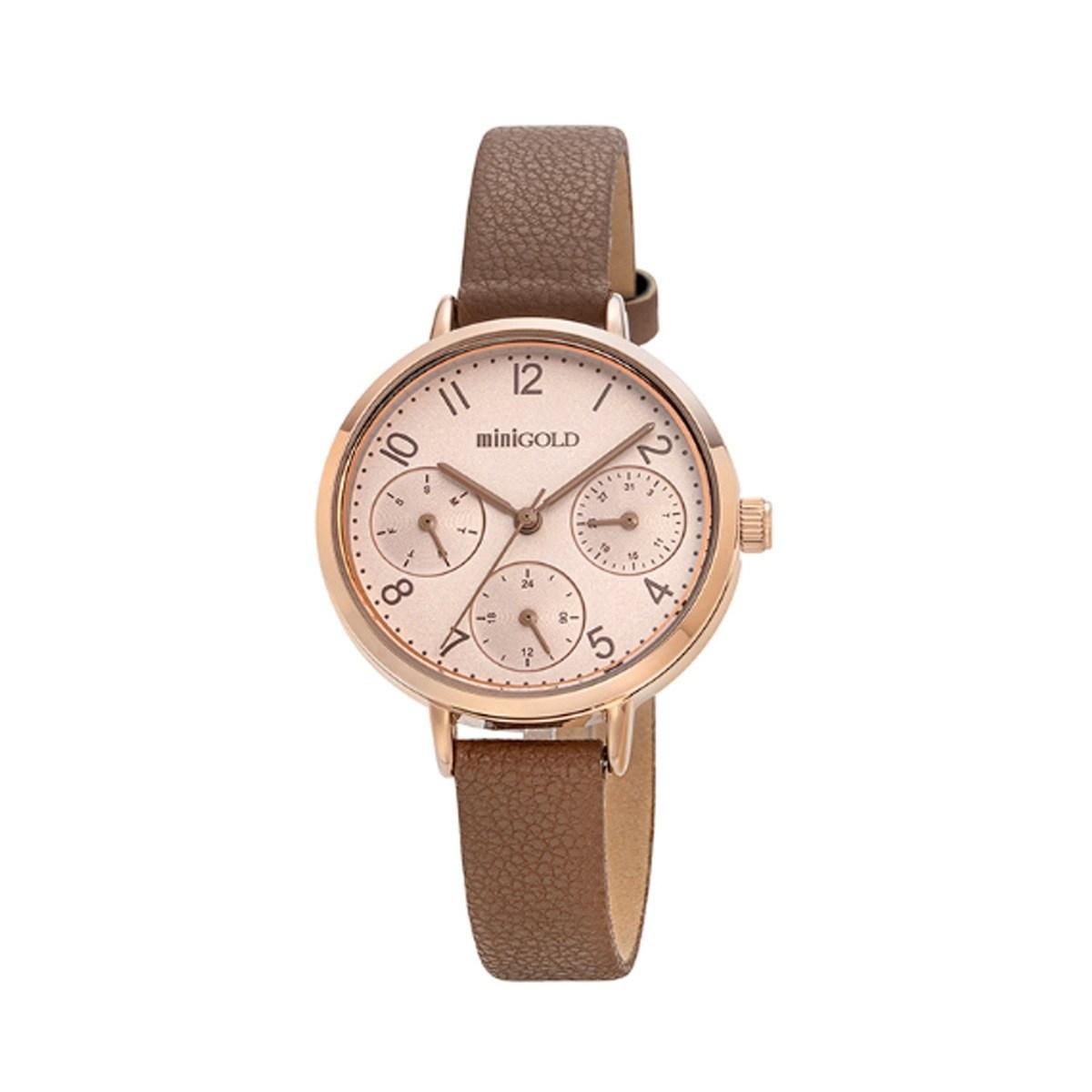 미니골드 클래식라인 베이지 시계 W220LWBE