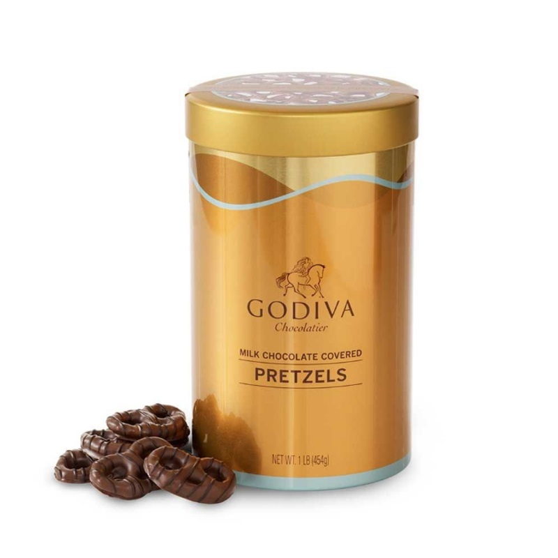 Godiva 고디바 밀크 초콜릿 프레첼 틴 454g