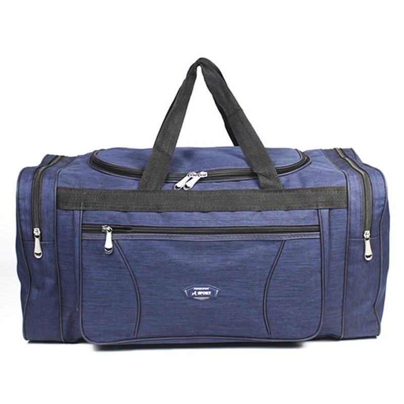 새로운 옥스포드 방수 남성 여행 가방 손 수하물 큰 여행 가방 하룻밤 더플 비즈니스 대용량 주말 여행 가방