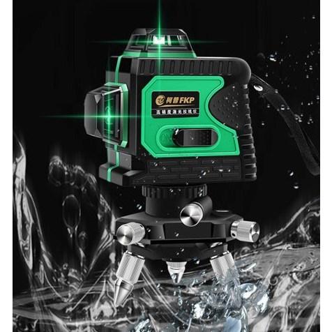 3D 360도 레이저 레벨기 8라인 12라인 그린라이트 레드라이트, 레드, 8라인 기본구성
