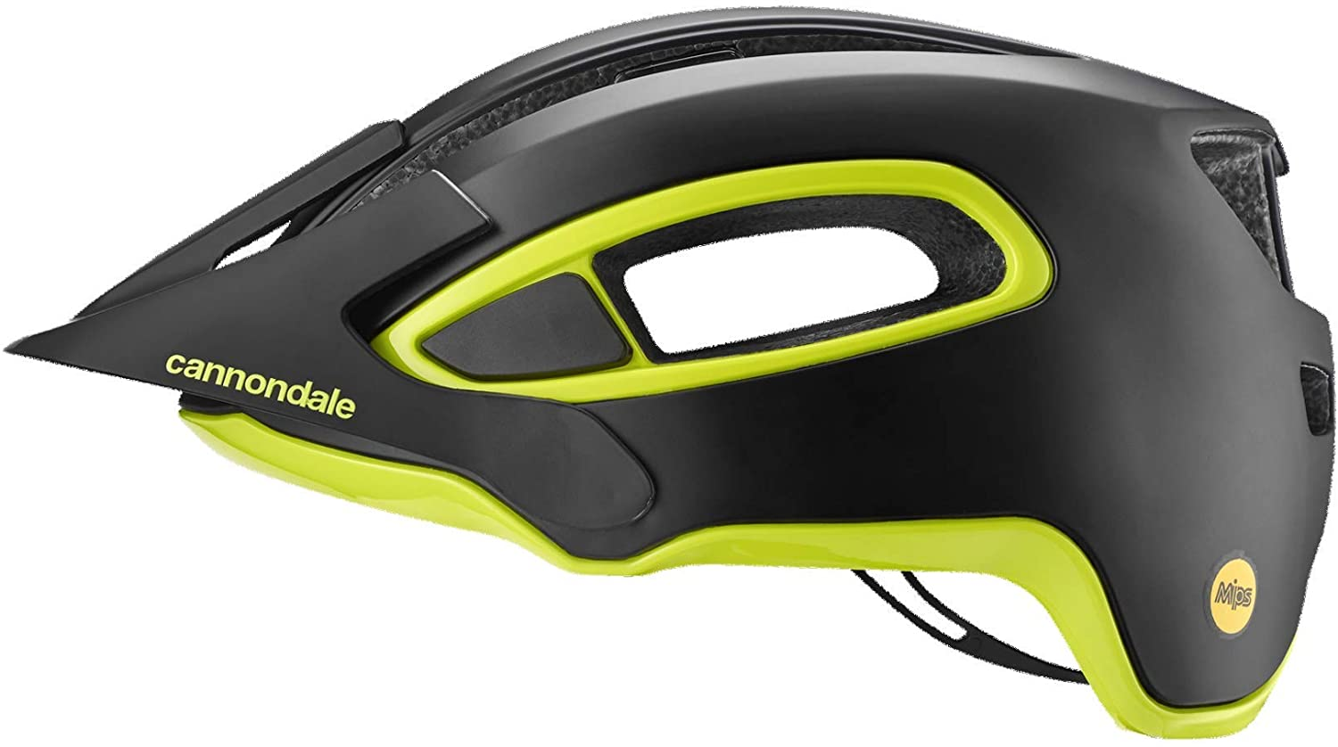 Cannondale Adult Hunter MIPS Bicycle Helmet - Black with Volt (Black with Volt - L/XL)-B07RYPHPFS, one colorone size