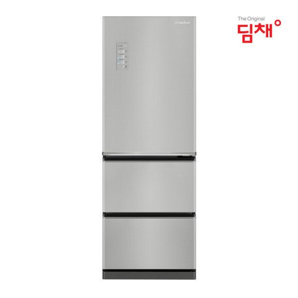 [딤채] [이월한정수량] 위니아 정품 330리터 3룸 스탠드 김치냉장고 GDT33DLRZS, 상세 설명 참조
