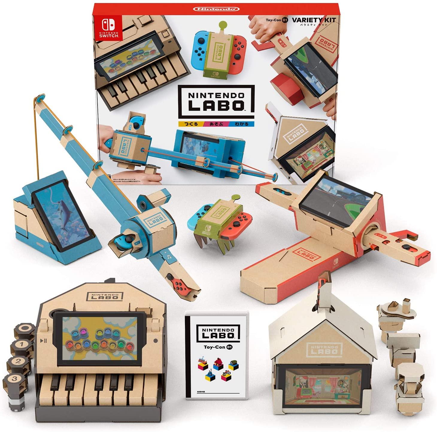 1.예상수령일 2-6일 이내 닌텐도 Nintendo Labo (닌텐도 연구소) Toy-Con 01 : Variety Kit - Switch B079, 상세 설명 참조0