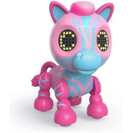 Zoomer Zupps Safari Pets 젤라 핑크 얼룩말 PROD1630001942, 한 가지 색