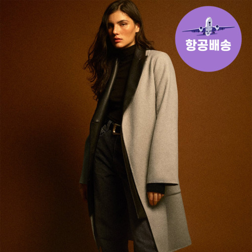ZARA 여성 울 코트 재킷 벨트 2color