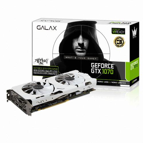 갤럭시 지포스 GTX1070 개간지 EXOC D5 8GB, 단일상품