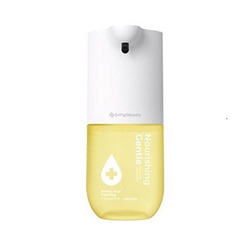 샤오미 simpleway 손세정기 4세대 xiaowei 핸드워시 99% 세균 억제 저전력 센서식 자동 거품 무료배송, 2개, 노랑색