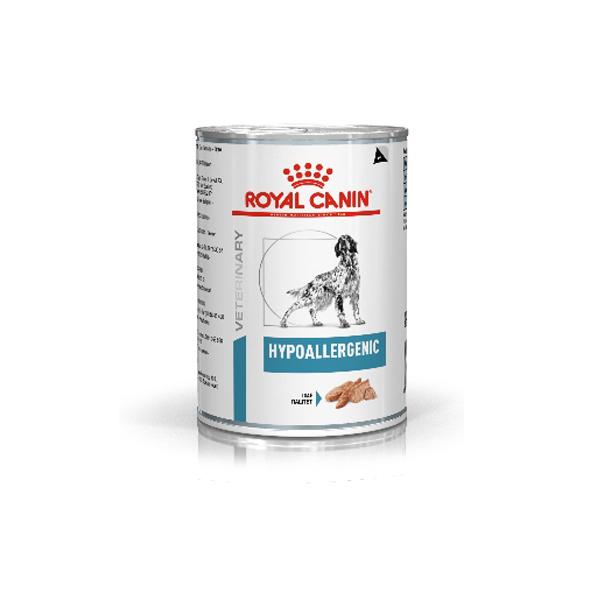 로얄캐닌 독 하이포알러제닉 캔 400g+6개 처방식.습식사료 HYPOALLERGENIC, 단품