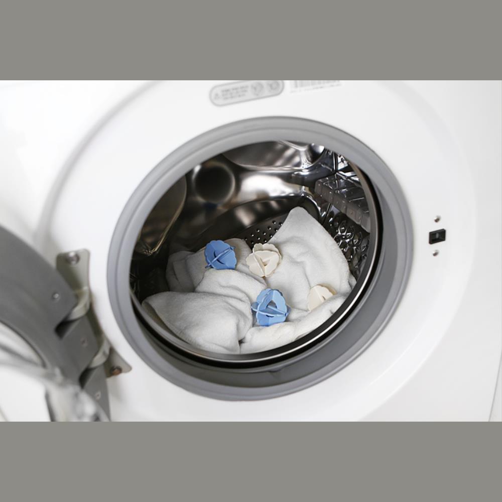 드럼세탁기 옷감손상 엉킴방지 세탁볼 4P 빨래보호 클린볼 잘빨리는 이물지, 1개