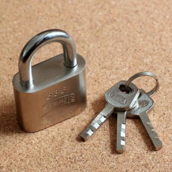 QVP458233남산타워자물쇠40mm 자물쇠 노트북장금장치 번호열쇠 안전 다이소 육각자물쇠