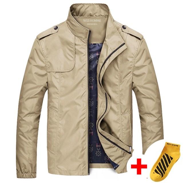 위즈아이 남자 캐주얼 점퍼 봄 바람막이 자켓 WI060J+국내발송+양말증정