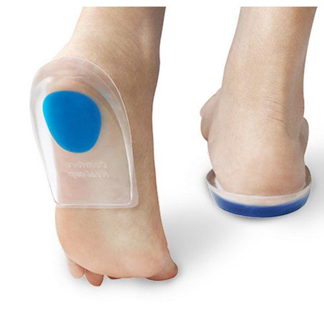 발뒤통증 말랑말랑 신발에 깔아야하는 깔창 족저근막염 발뒤꿈치통증 실리콘