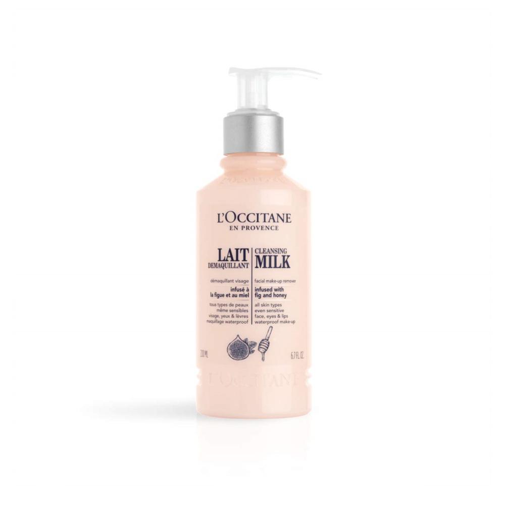 L'Occitane Cleansing Milk Facial Makeup Remover 록시땅 클렌징 밀크 페이셜 메이크업 리무버 6.7oz, 1개