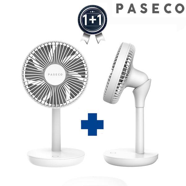 파세코 유무선충전형 BLDC선풍기 탁상형 PDF-AB9060W(화이트)1+1(총2개)