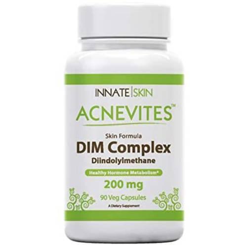 Acnevites DIM Complex Skin Formula 200MG Diindolylmethane 90 Capsules, 상세내용참조, 상세내용참조